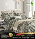 sprei mewah orisa bedding sutra jacguard tencel dilone champagne
