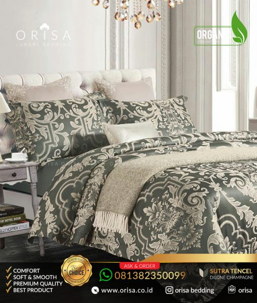 sprei-mewah-orisa-bedding-sutra-jacguard-tencel-dilone-champagne