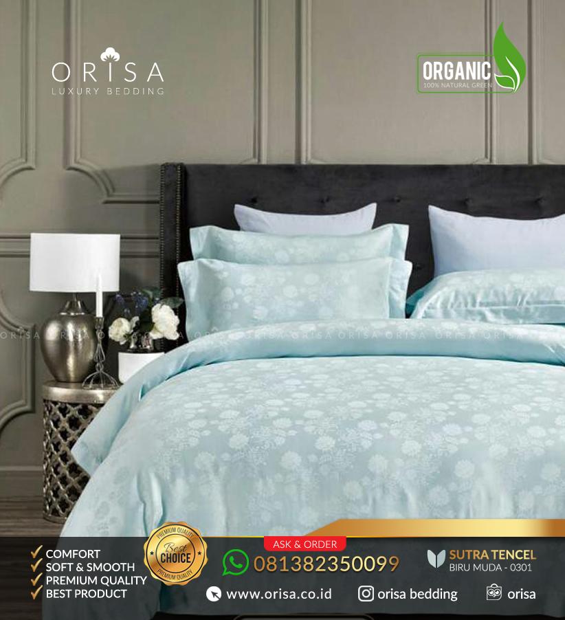 sprei-mewah-orisa-bedding-sutra-jacguard-tencel-organik-biru-muda
