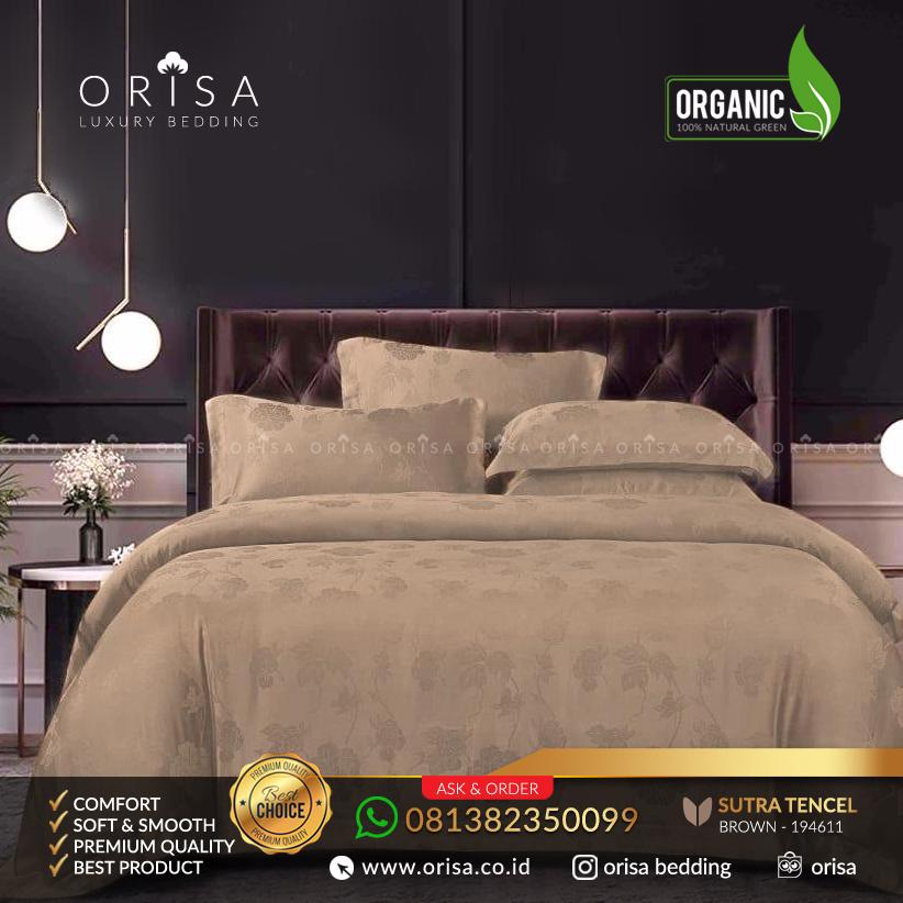 sprei-bedcover-set-orisa-sutra-tencel-jacguard-original-warna-brown